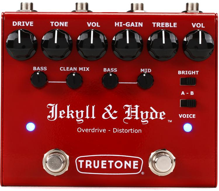 Truetone Jekyll and Hyde V3 Overdrive and Distortion Pedal image 1
