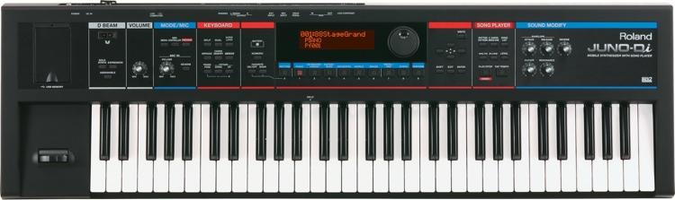 Roland JUNO-Di 61-Key Synthesizer - Black image 1