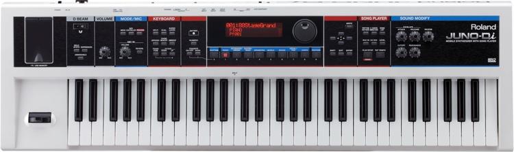 Roland JUNO-Di 61-Key Synthesizer - White image 1
