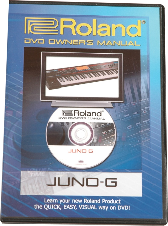 Roland DVD Manual for Juno-G image 1