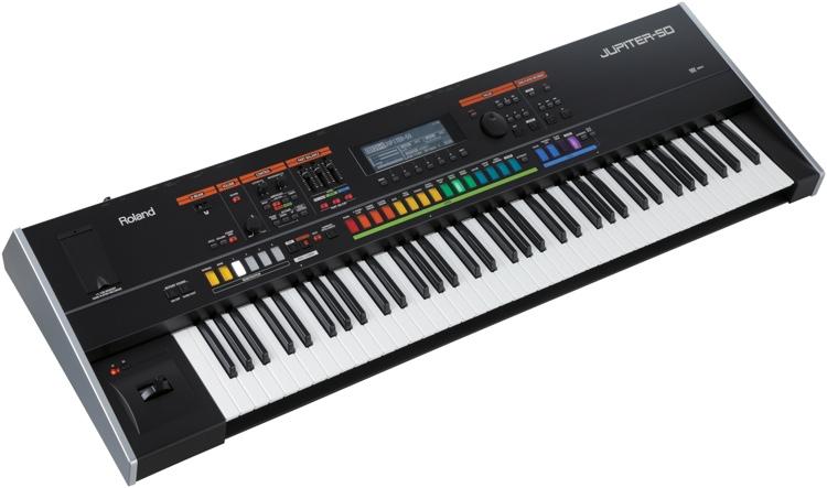 Roland Jupiter-50 76-Key Synthesizer image 1