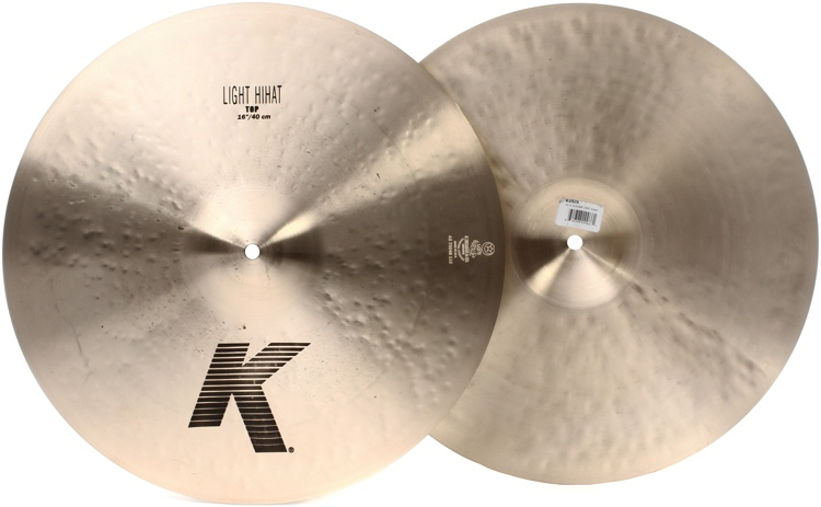 Zildjian K Series Light Hi-hats - 16