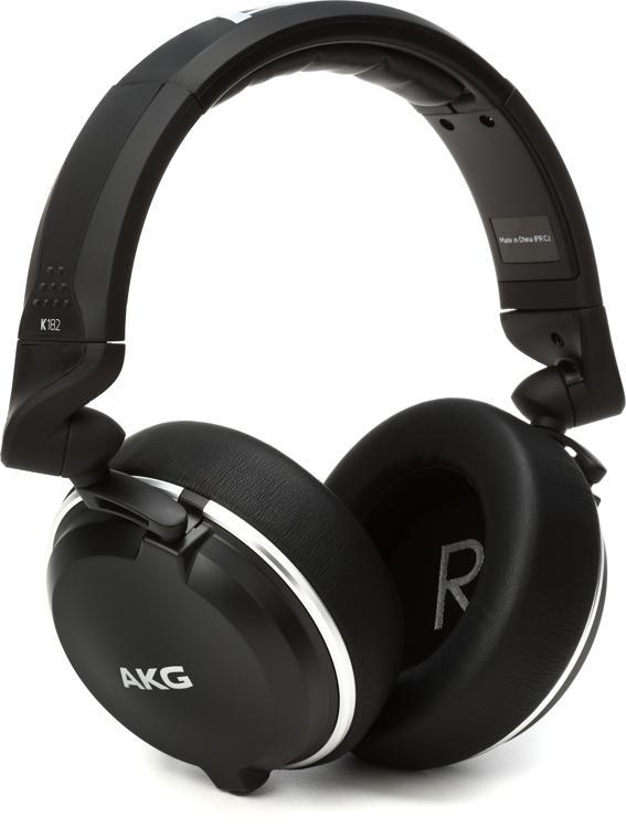 AKG K182 Closed-back Monitor Headphones image 1