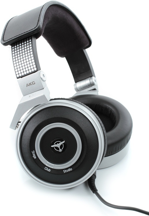 AKG K267 Tiesto DJ Headphones w/ Adjustible Bass Boost - Closed image 1