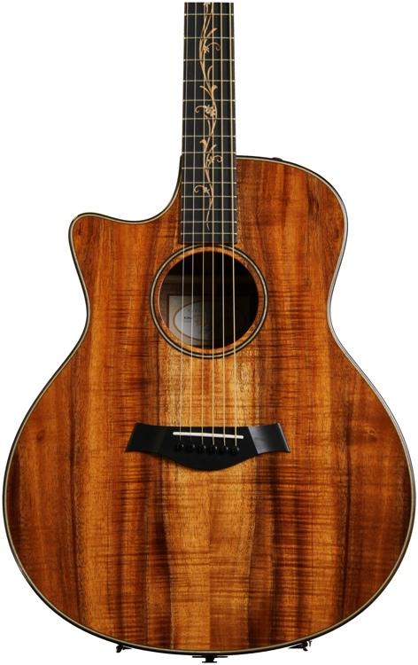 Taylor K26ce Left Hand - AA Top, Shaded Edge Burst, Left-handed image 1