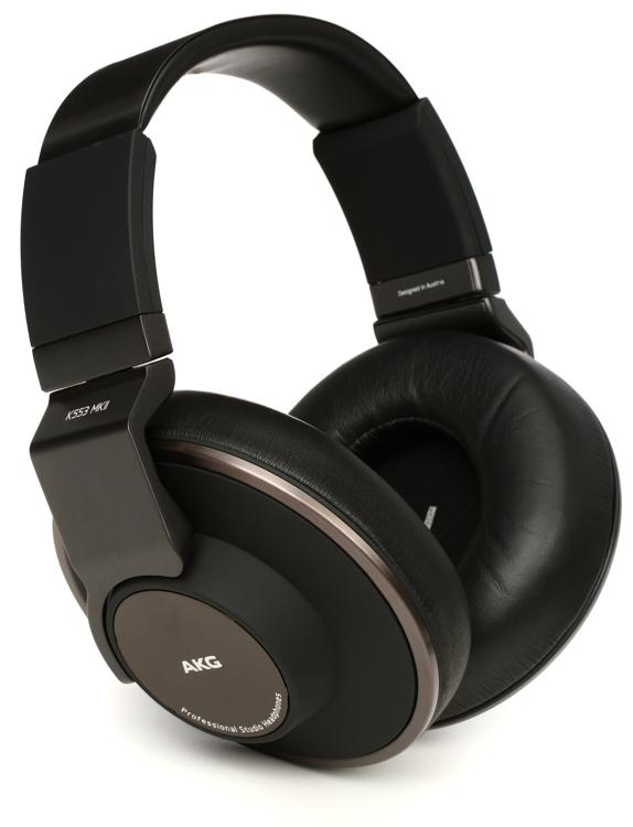 AKG K553 MKII Closed-back Studio Headphones | Sweetwater