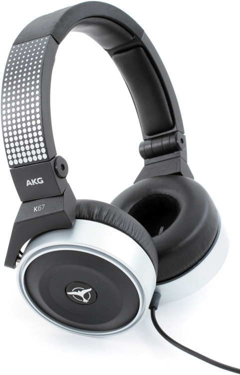 AKG K67 Tiesto DJ Headphones - Closed image 1