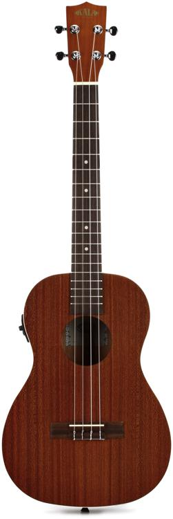Kala KA-BE Mahogany Series Baritone Ukulele with EQ image 1