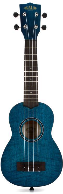 Kala KA-SEM Exotic Mahogany Series Soprano Ukulele - Blue image 1