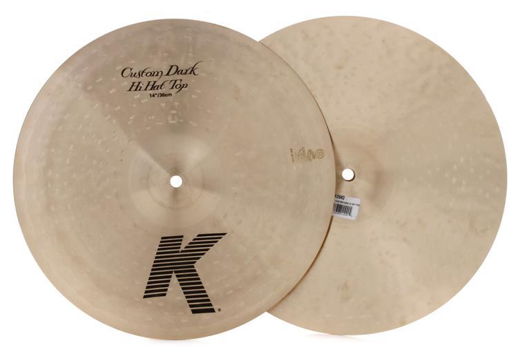 Zildjian K Custom Dark Hi-hats - 14