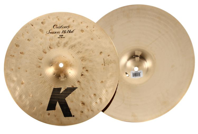 Zildjian K Custom Session Hi-Hats - 14