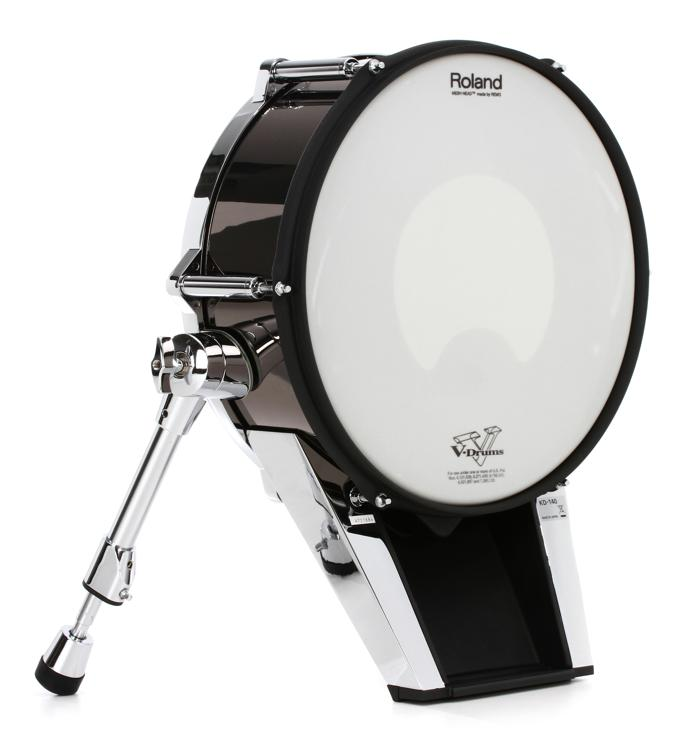 Roland KD-140 V-Kick - Black Chrome image 1