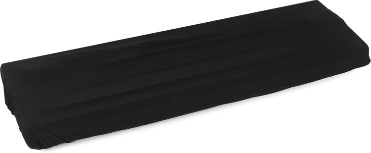 On-Stage Stands KDA7088 88-Key Keyboard Dust Cover - Black image 1
