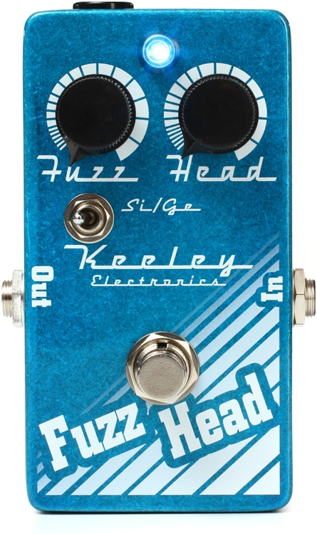 Keeley Fuzz Head Overdrive/Fuzz Pedal image 1