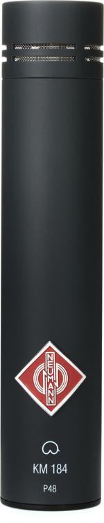 Neumann KM 184 Small-diaphragm Cardioid Microphone - Matte Black image 1