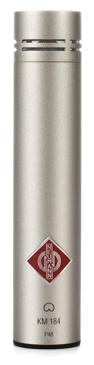 Neumann KM 184 Small-diaphragm Cardioid Microphone - Nickel image 1