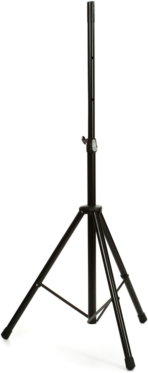K&M 21435 Steel Speaker Stand - Black image 1