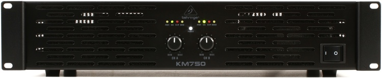 behringer km750 power amplifier sweetwater. Black Bedroom Furniture Sets. Home Design Ideas