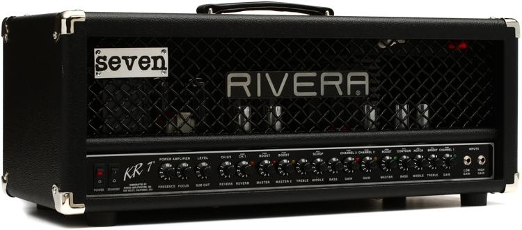 Rivera KR7 Top 120-watt 3-channel Mick Thomson Signature Tube Head image 1