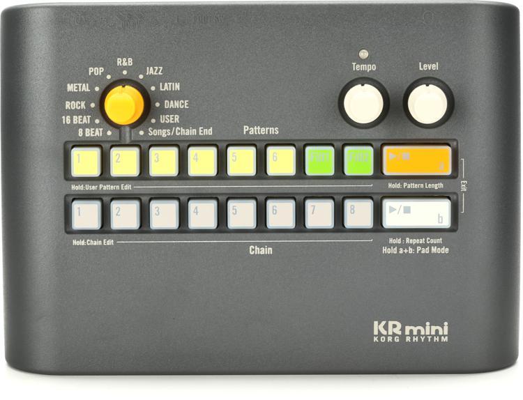 Korg Kr Mini Rhythm Machine Sweetwater