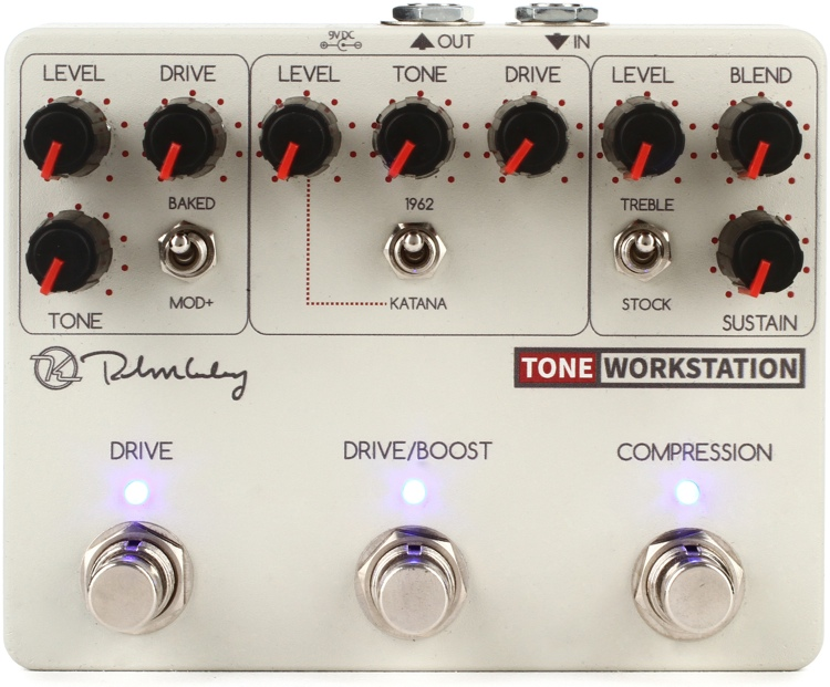Keeley Tone Workstation Analog Multi-effects Pedal image 1
