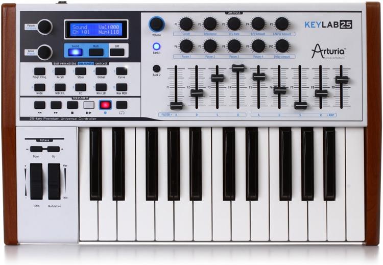 Arturia KeyLab 25 Keyboard Controller image 1