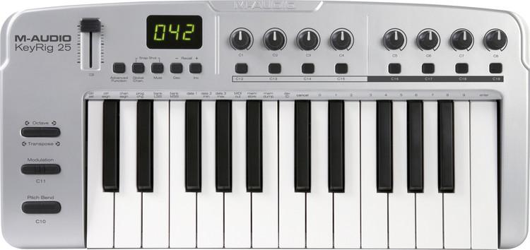 M-Audio KEYRIG 25 User Manual