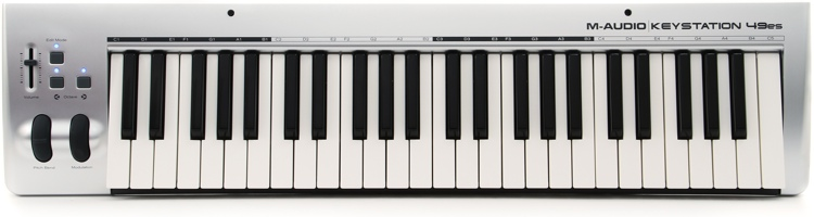 M-Audio Keystation 49es 49-key MIDI Controller image 1