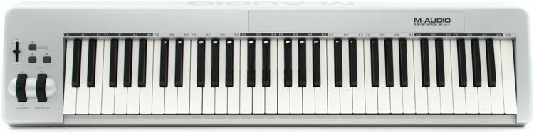 M-Audio Keystation 61es 61-key MIDI Controller image 1