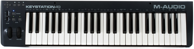 M-Audio Keystation 49 Keyboard Controller image 1