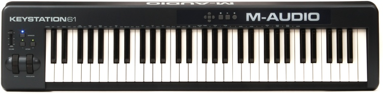 m audio keystation 61 keyboard controller sweetwater. Black Bedroom Furniture Sets. Home Design Ideas