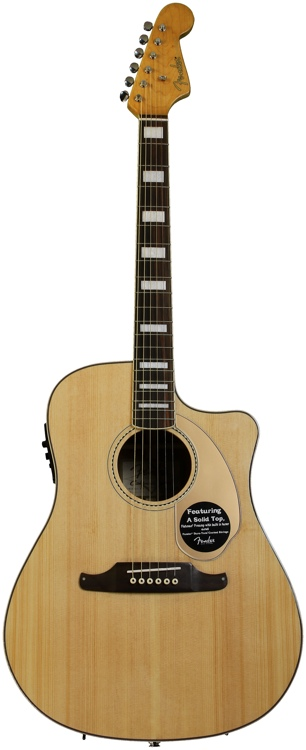 Fender Kingman SCE - Natural image 1