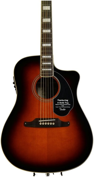 Fender Kingman SCE - 3-Color Sunburst image 1