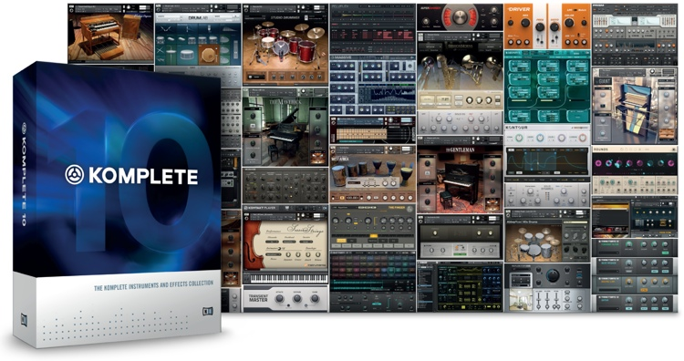 Native Instruments Komplete 10 Upgrade from Komplete 2-9 image 1