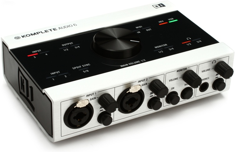 Native Instruments Komplete Audio 6 image 1
