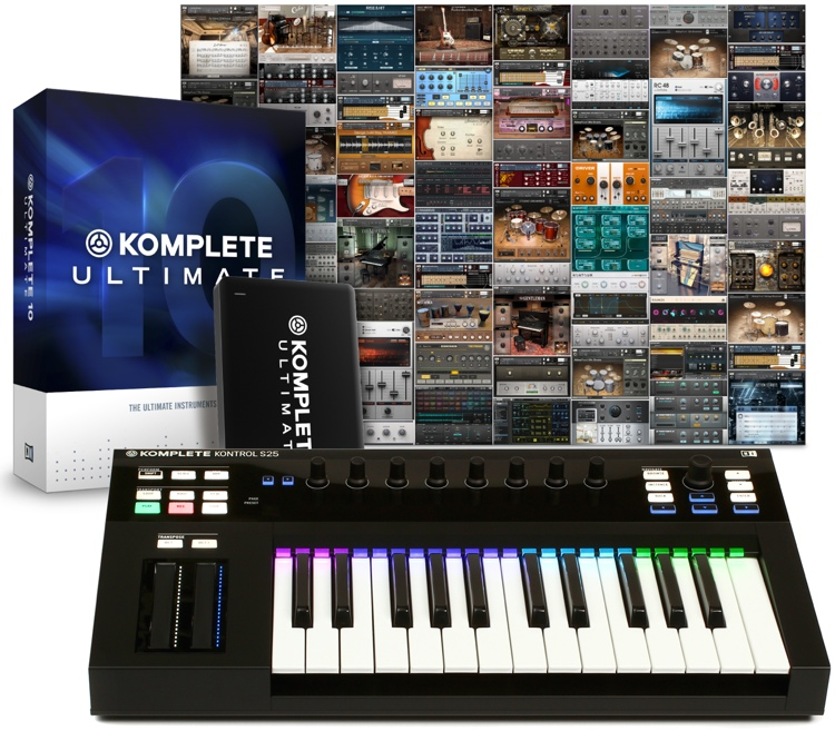 Native Instruments Komplete Kontrol S25 with Komplete 10 Ultimate
