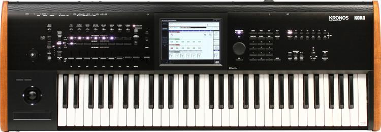 Korg Kronos 61-Key Synthesizer Workstation image 1
