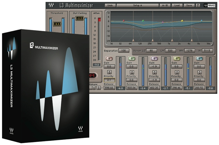 Waves L3 Multimaximizer Plug-in for Academic Institutions - Native image 1