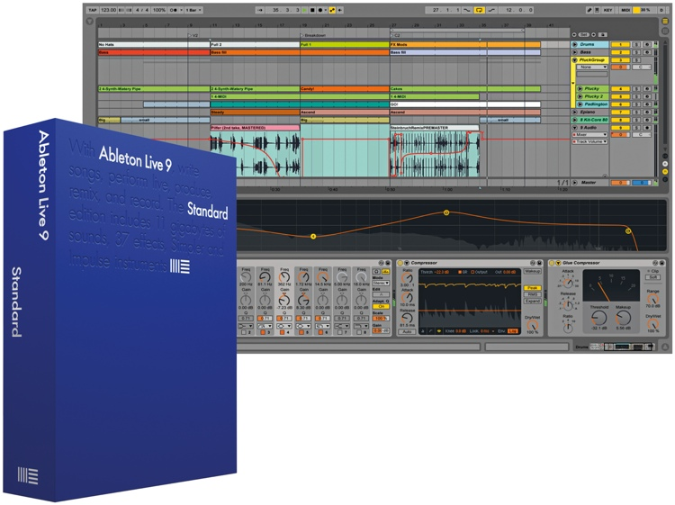 Ableton Live 9 Standard Educational Site License - 10-24 seats - per seat (download) image 1