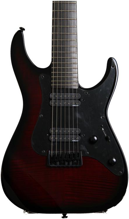ESP LTD Alex Wade Signature 7-String - Blood Red Sunburst image 1