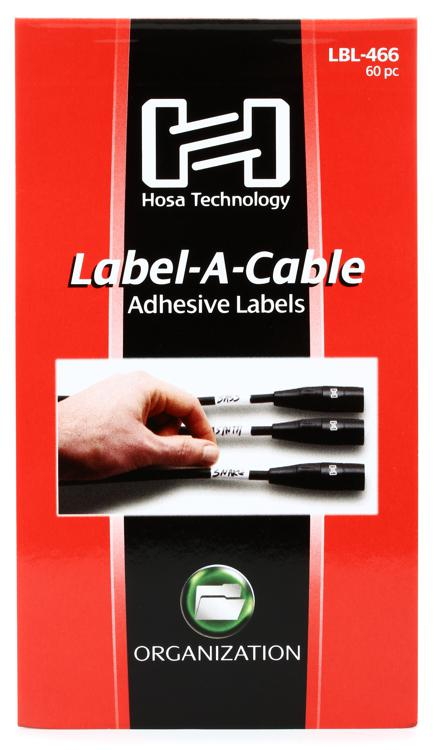 Hosa Label-A-Cable Cable, 60pc image 1