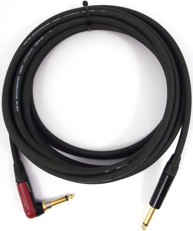 Pro Co LGCSLN-10 - 10\' Lifelines Silent Guitar Cable image 1