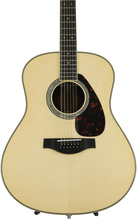 Yamaha LL16-12 12-string Acoustic/Electric Jumbo - Natural image 1