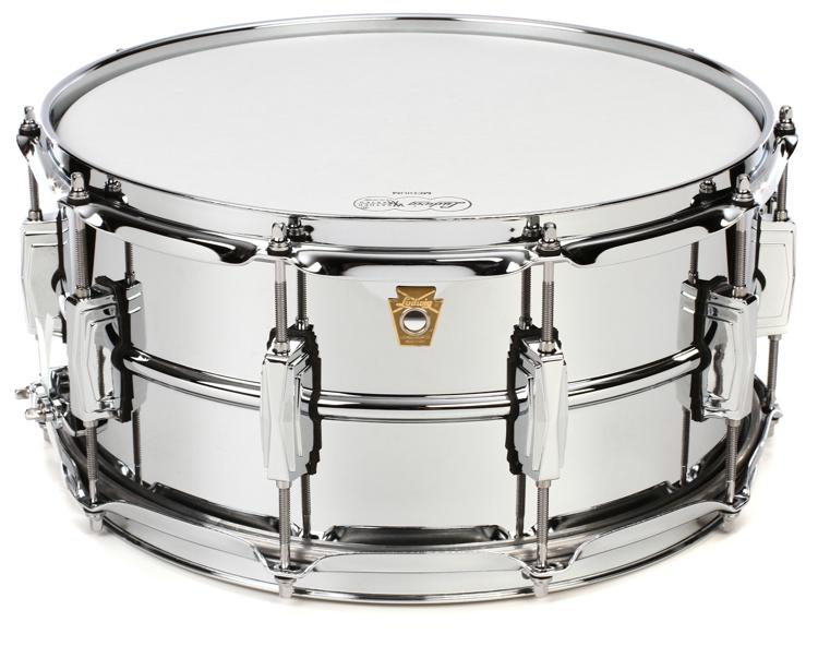 ludwig supraphonic lm402 snare drum 6 5 39 39 x14 39 39 sweetwater. Black Bedroom Furniture Sets. Home Design Ideas