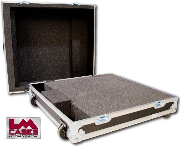 LM Cases StudioLive 24 Case w/Wheels & 4