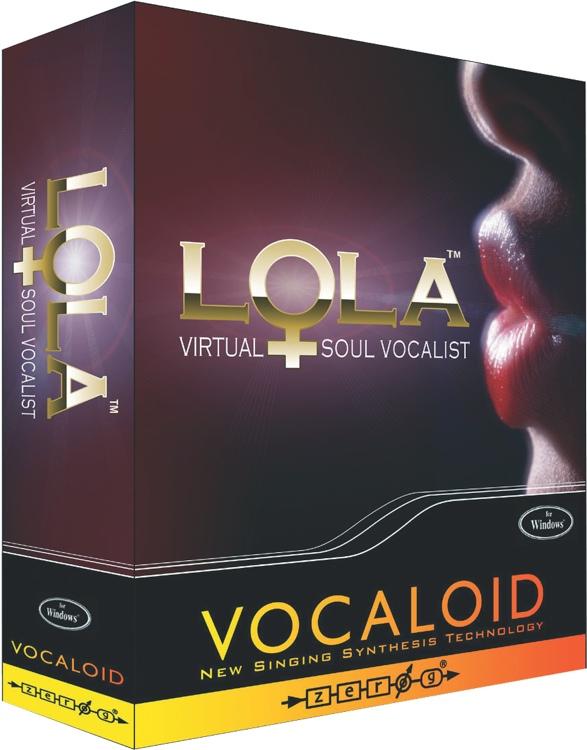 Zero-G Vocaloid Lola Virtual Female Soul Vocalist image 1