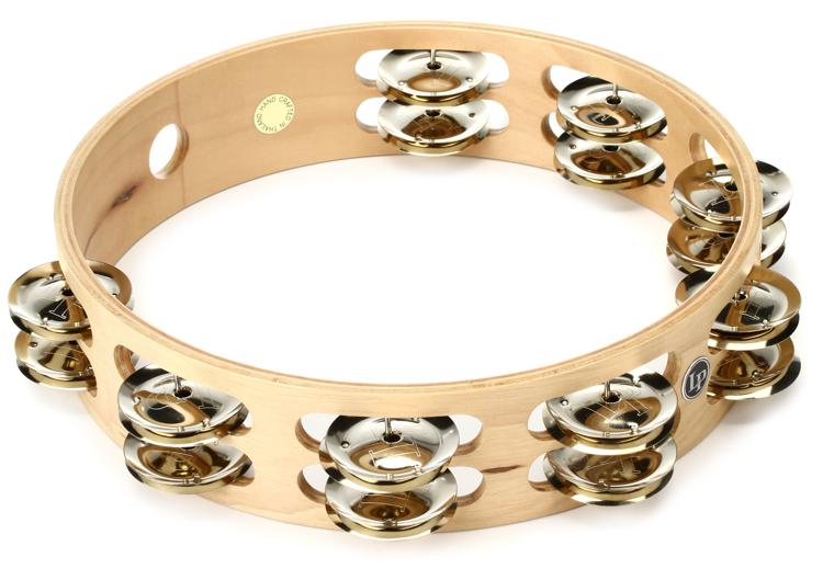 Latin Percussion LP380B Double Row Professional Tambourine image 1