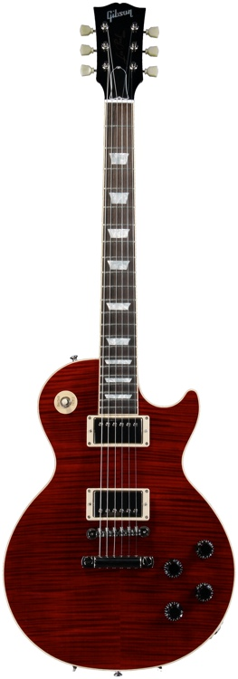 Gibson Custom Les Paul Custom Shop Standard - Transparent Red image 1