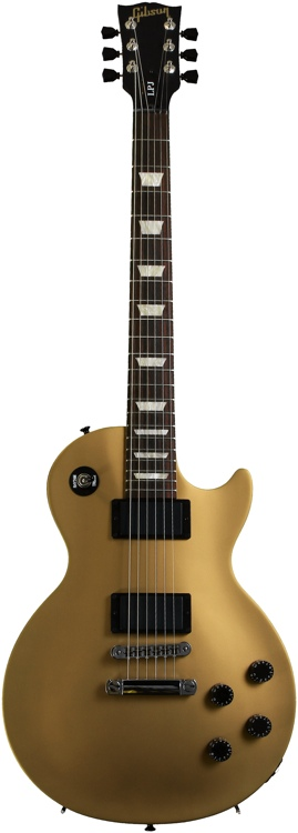 Gibson Les Paul LPJ - Rubbed Goldtop dark back Satin image 1