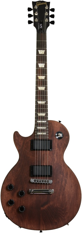 Gibson Les Paul LPJ Left Hand - Chocolate Satin image 1